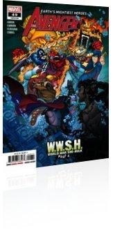 Marvel Comics: Avengers - Issue # 49 Cover