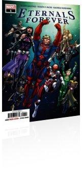 Marvel Comics: Eternals Forever - Issue # 1 Cover