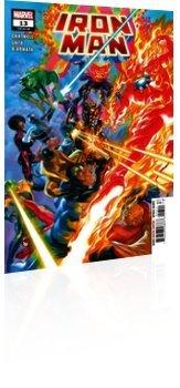 Marvel Comics: Iron Man - Issue # 13 Cover