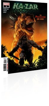 Marvel Comics: Ka-Zar: Lord of the Savage Land - Issue # 2 Cover