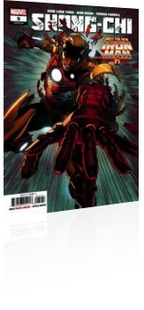 Marvel Comics: Shang-Chi - Issue # 5 Cover