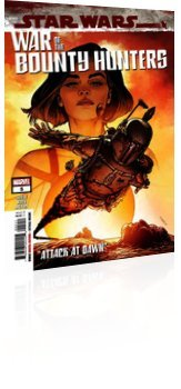Marvel Comics: Star Wars: War of the Bounty Hunters - Issue # 5 Cover