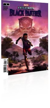 Marvel Comics: Black Panther Legends - Issue # 1 Cover