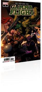 Marvel Comics: Gamma Flight - Issue # 5 Cover