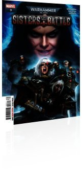 Marvel Comics: Warhammer 40000: Sisters of Battle - Issue # 3 Cover