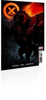Marvel Comics: X-Men - Issue # 4 Cover