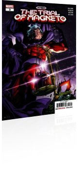 Marvel Comics: X-Men: The Trial of Magneto - Issue # 3 Cover