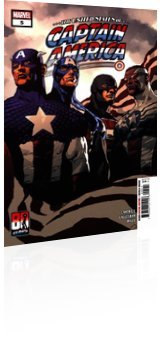 Marvel Comics: The United States of Captain America - Issue # 5 Cover