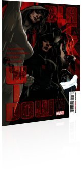 Marvel Comics: Black Widow - Issue # 12 Cover