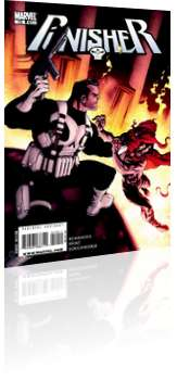 Marvel Comics: The Punisher - Issue # 10 Cover