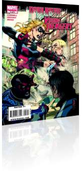 Marvel Comics: Dark Reign: Young Avengers - Issue # 5 Cover