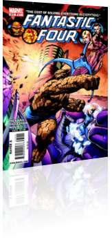 Marvel Comics: Fantastic Four - Issue # 572 Cover