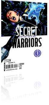 Marvel Comics: Secret Warriors - Issue # 9 Cover