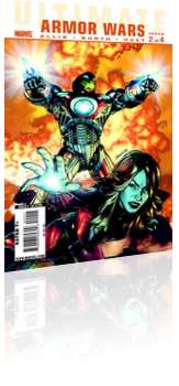 Marvel Comics: Ultimate Armor Wars - Issue # 2 Cover
