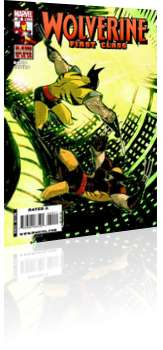 Marvel Comics: Wolverine: First Class - Issue # 20 Cover