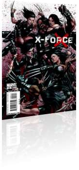 Marvel Comics: X-Force - Issue # 20 Cover