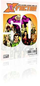 Marvel Comics: X-Factor - Issue # 50 Cover