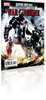 Marvel Comics: War Machine - Issue # 10 Cover