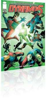 Image Comics: Dynamo 5 - Issue # 25 Cover