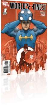 DC Comics: World's Finest - Issue # 1 Cover A