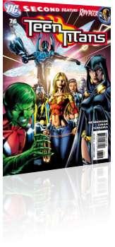 DC Comics: Teen Titans - Issue # 76 Cover