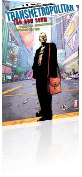 Vertigo: Transmetropolitan - TPB # 4b Cover