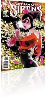 DC Comics: Gotham City Sirens - Issue # 5 Cover
