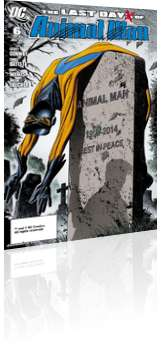 DC Comics: Last Days of Animal Man - Issue # 6 Cover