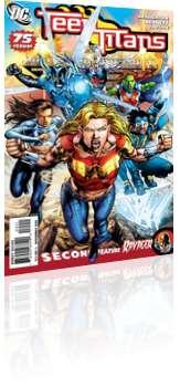 DC Comics: Teen Titans - Issue # 75 Cover