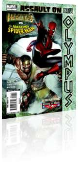 Marvel Comics: Assault on New Olympus - Issue # 1 Cover