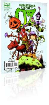 Marvel Comics: The Marvelous Land of Oz - Issue # 1 Cover