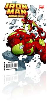 Marvel Comics: Iron Man & the Armor Wars - Issue # 4 Cover