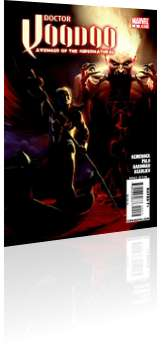 Marvel Comics: Doctor Voodoo: Avenger of the Supernatural - Issue # 2 Cover