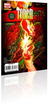 Marvel Comics: The Torch - Issue # 3 Cover