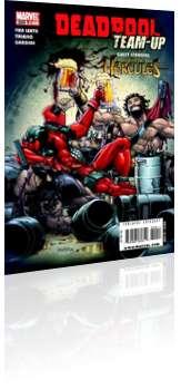 Marvel Comics: Deadpool Team-Up - Issue # 899 Cover