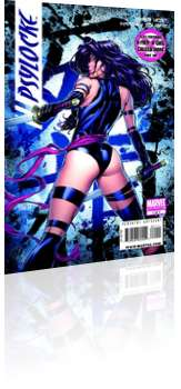 Marvel Comics: Psylocke - Issue # 1 Cover