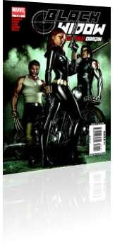 Marvel Comics: Black Widow: Deadly Origin - Issue # 1 Cover