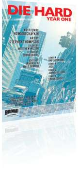 BOOM! Studios: Die Hard: Year One - Issue # 1 Credits
