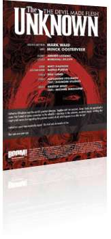 BOOM! Studios: The Unknown: The Devil Made Flesh - Issue # 1 Credits