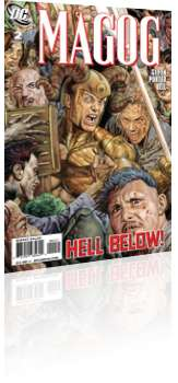 DC Comics: Magog - Issue # 2 Cover