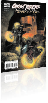 Marvel Comics: Ghost Riders: Heaven's on Fire - Issue # 3 Cover