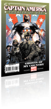 Marvel Comics: Captain America: Theater of War - Ghosts of My Country - Issue # 1 Cover