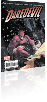 Marvel Comics: Daredevil - Issue # 501 Cover