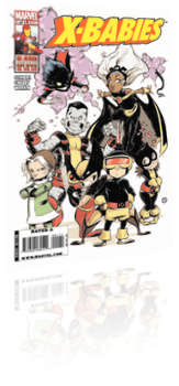 Marvel Comics: X-Babies - Issue # 1 Cover