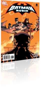 DC Comics: Batman and Robin - Issue # 8 Cover