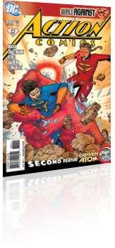 DC Comics: Action Comics - Issue # 886 Cover