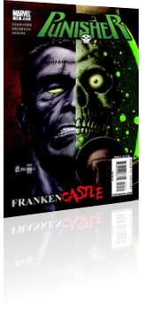 Marvel Comics: Punisher - Issue # 14 Cover