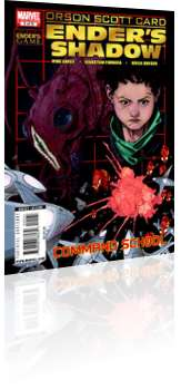 Marvel Comics: Ender's Shadow: Command School - Issue # 5 Cover