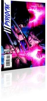 Marvel Comics: Psylocke - Issue # 4 Cover