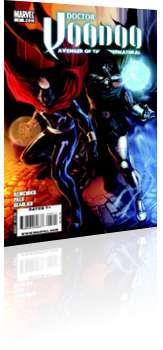 Marvel Comics: Doctor Voodoo: Avenger of the Supernatural - Issue # 5 Cover